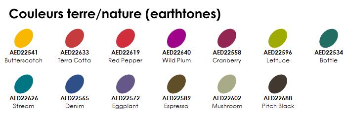 Photo 2 - couleurs earthtones