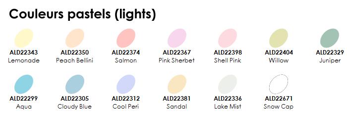 Photo 2 - couleurs pastels
