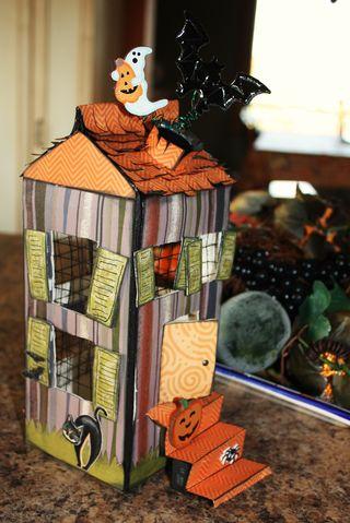 Maison halloween 1 - Site de bricolage maison ...