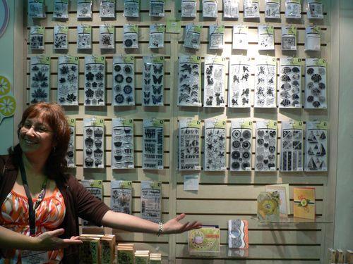 Vanna White qui présente les collections Inkadikado!