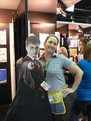 Parlant de vedettes... j'ai rencontré Harry Potter!