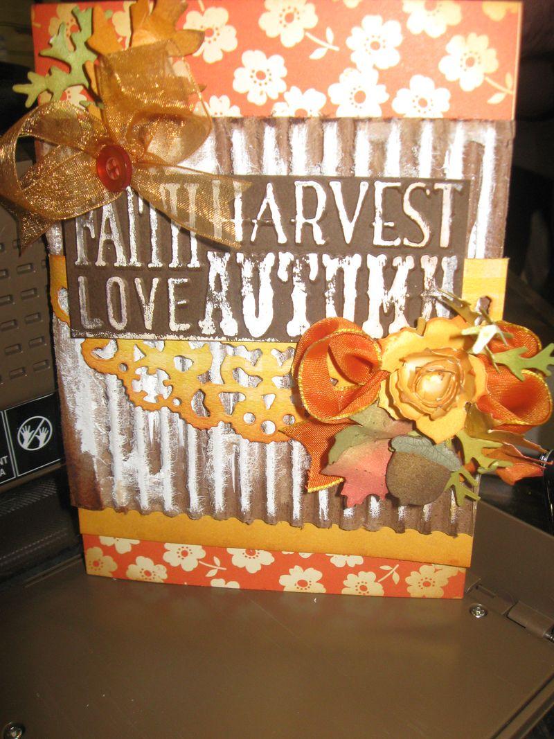 Mini album Autumn Harvest