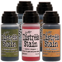 Distress-stain