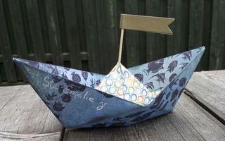 Bateau origami 1