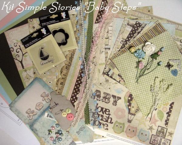 Simple Stories_Baby Steps 2012