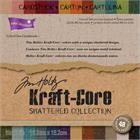 T140-54471-3-Core-dinations-Bloc-de-cartons-6-X6-48-Pqt-Edition-Kraft-Core-Tim-Holtz-Shattered