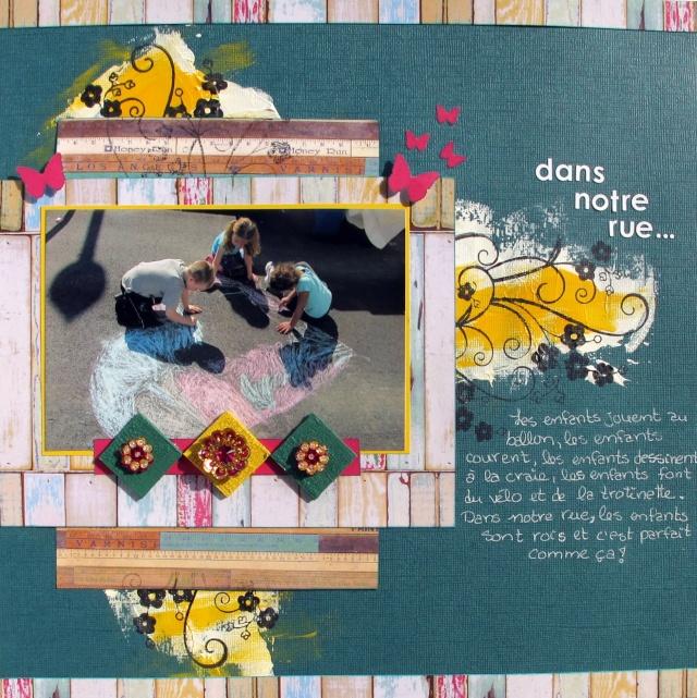 Violette_Composition and colour_Dans notre rue