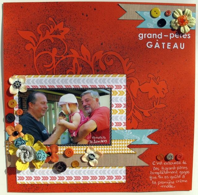 Violette_Composition and colour_Grand-pères gâteau