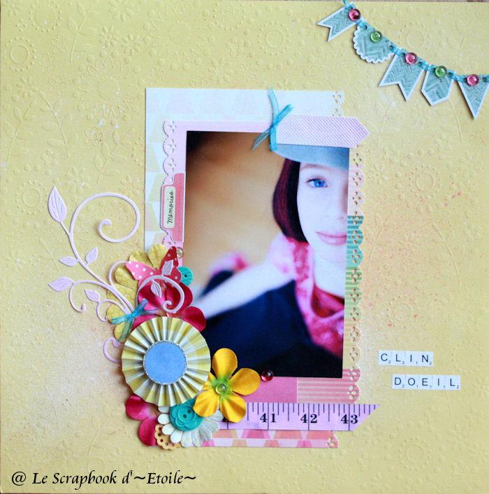 Étoile_Summer Love_Clin d'oeil