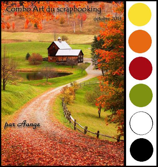 Combo couleurs octobre