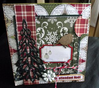 Girafe_Handmade holidays_En attendant Noël