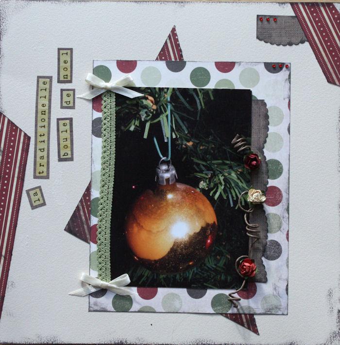 Etoile_Home for christmas_La traditionnelle boule de noel