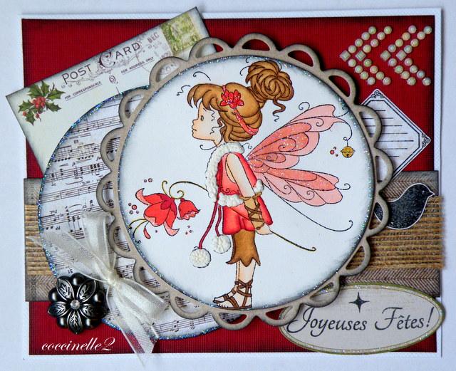 Carte angélique - Coccinelle2