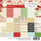 T140-55163-2-Webster-s-Pages-Bloc-de-papiers-6-x6-Collection-A-Christmas-Story-24-feuilles-2-de-chacun-des-12-motifs