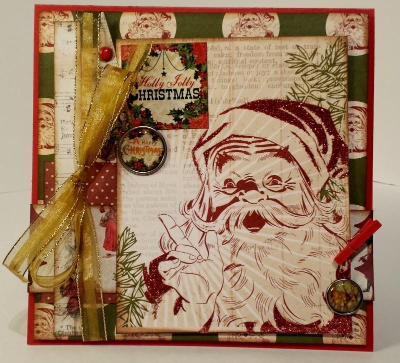 Kit vintage christmas - marilyn - carte 1