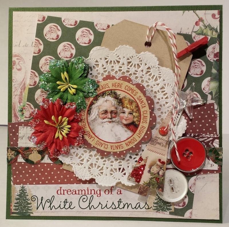 Kit vintage christmas - marilyn - carte 2