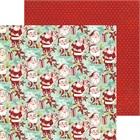 T140-55328-1-My-Mind-s-Eye-Papier-a-motifs-recto-verso-12-X12-Collection-Mistletoe-Magic-Santas