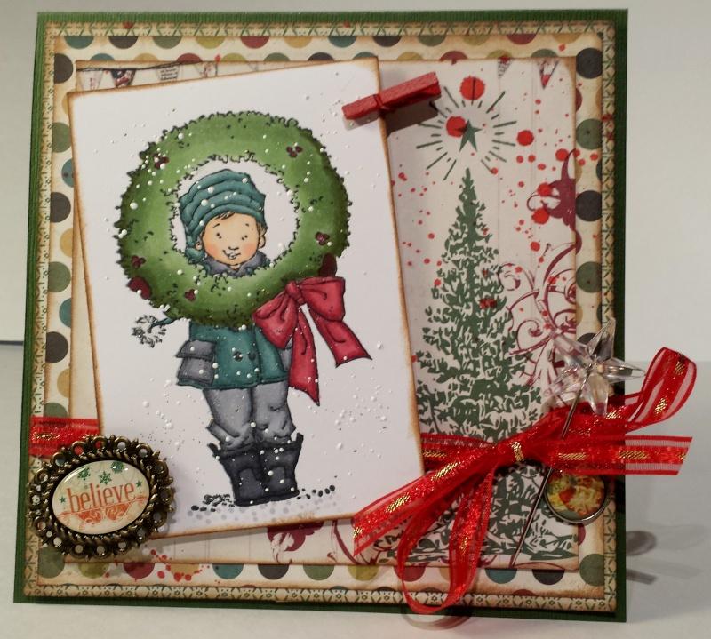 Kit vintage christmas - marilyn - carte 3