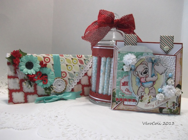 Kit christmas Story - Verocoli - cartes et souvenirs en pot