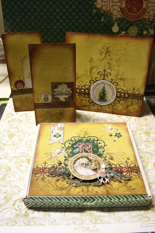 Kit silver and gold - owarde - boitatou et cartes