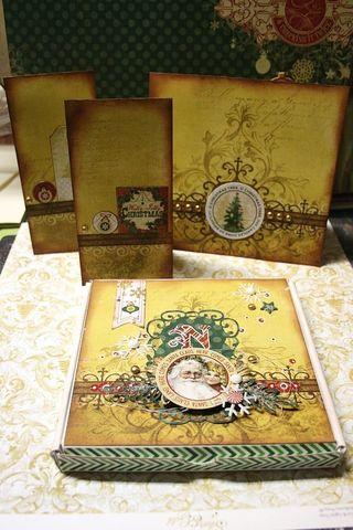 Kit silver and gold - owarde - boitatou et cartes