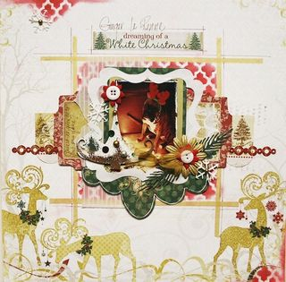Kit silver and gold - owarde - dreaming of a white christmas