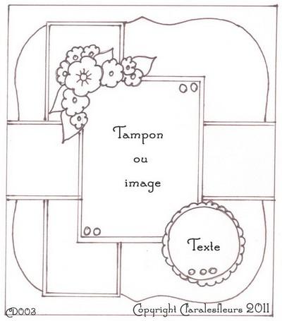 Sketch du mois de Mars 2011 (Claralesfleurs)