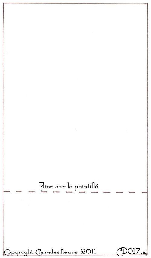 Gabarit carte à pochette arrière - semaine du 27 Mars 2011 (Claralesfleurs)