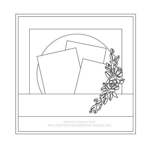 "Sketch du kit ""Secret Admirer""  (Kasimodo - mars 2013)"