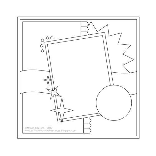 """Sketch du kit """"Festive"""" de Authentique Papers  (Kasimodo - novembre 2012)"""
