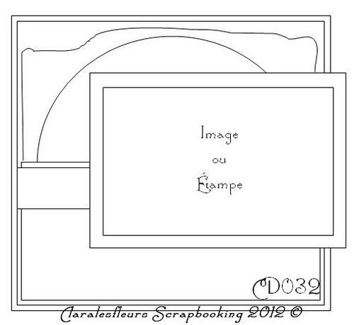 """Sketch du kit """"Turtle Dove"""" de Kaisercraft (Claralesfleurs - novembre 2012)"""